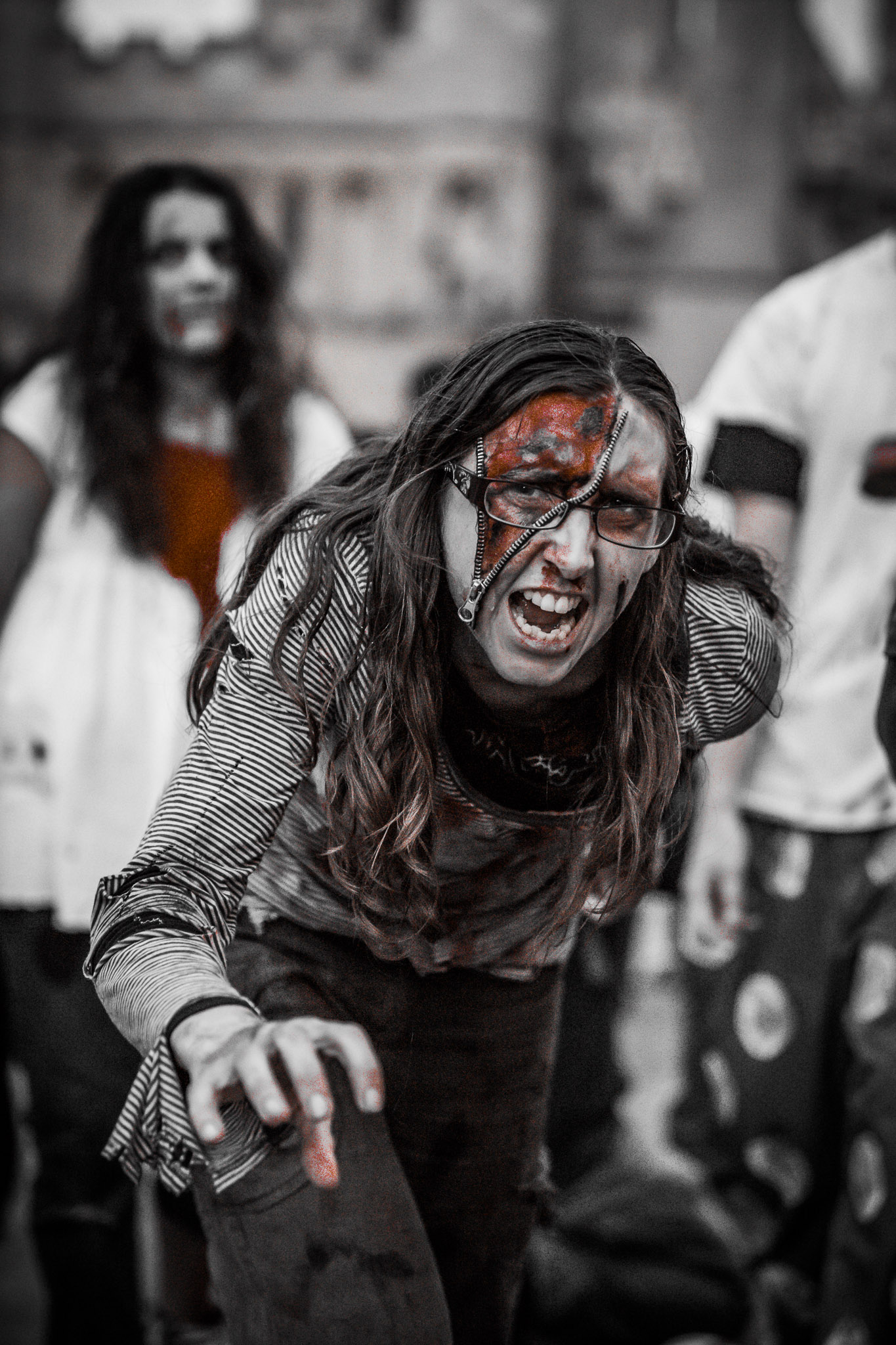 Peterborough Zombie Walk - Paul David Smith Photography
